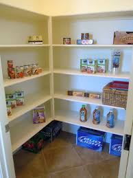 Tiered Shelves For Cabinets Wonderful White L Shaped Rack And Pantry Shelving Design With