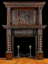 dazzling design inspiration old wood fireplace mantels 22 gothic antique with mirrors antique jacobean carved oak