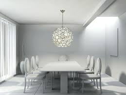chandelier sets great mandatory round shape shell chandelier with dining set and white wall for room