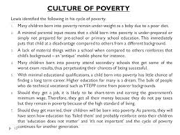 social stratification inequality ppt video online  13 culture of poverty lewis