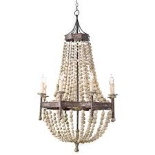 full size of furniture captivating chandeliers at target 7 wood bead chandelier diy pottery barn francesca large