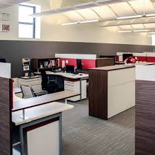 improving acoustics office open. Agati Furniture - Open Office Plan Using Red AlphaSorb® Panels And Sonex® Whisperwave® Improving Acoustics