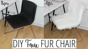 diy fur chair tutorial ikea s ep 3