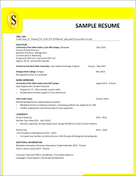 Resume Formatting Simple Resume Formatting Does Matter Sample Templates