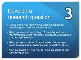 the extended essay research process 4