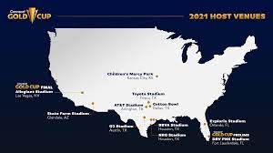 Concacaf announces host cities and ...