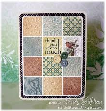 Best 25+ Patchwork cards ideas on Pinterest | Anniversary cards ... & handmade card: Patchwork Quilt by frenziedstamper - Cards and Paper Crafts  at Splitcoaststampers . Adamdwight.com