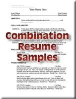 Example Of Combination Resumes Resumes Job Placement Cooperative Education Butte College