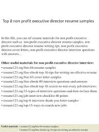 Non Profit Board Of Directors Resume Sample Board Of Directors