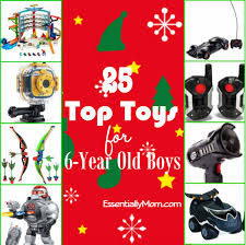 From remote control robots to STEM toys, here are 25 top toys for 6- Top Toys 6 Year Old Boys - Essentially Mom