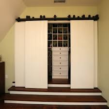 ... closet door barn. Image by: Castle Construction of Santa Barbara