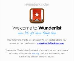 welcome email template now this is a good follow up welcome email example wunderlist