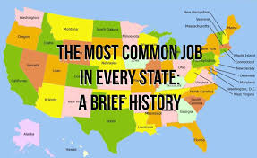 Most Common Job The Most Common Job In Every State A Brief History