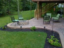 fire pit inspired best concrete patio designs with pits gallery awesome ideas home attractive stained metal