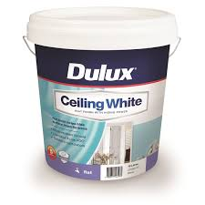 ceiling white paintDulux 10L Ceiling White Paint  Bunnings Warehouse