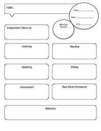 World Language Lesson Plan Template By Creative Language Class Tpt