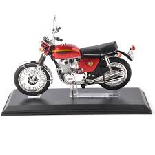 dels about honda dream cb750 four motorbike cast model 1 12 red race toys gifts