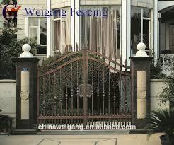 metal fence gate designs. Backyard Iron Square Tube Gate For Sale Metal Fence Designs