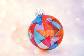 How to Make a Stained Glass Christmas Ornament