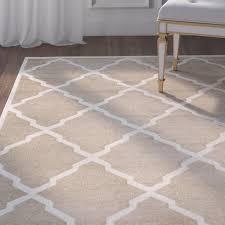 endearing trellis area rug on beige and white awe inspiring willa arlo interiors maritza