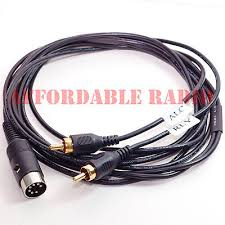amp relay keying cable yaesu radio ft ft ft ftdx  amp amplifier relay cable for kenwood radio ts 680s ts 530s ts 140s