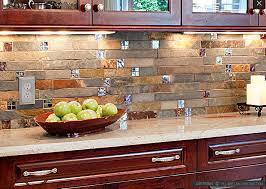 glass tile kitchen backsplash gallery. kitchen cabinets, brown rectangle rustic stone backsplash for cabinets lacquered design glass tile gallery