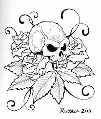 Small Picture Tattoo Coloring Pages Printable Skull Coloring Pages Skull Skull