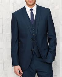 New Blazer Design 2016 Click To Buy Navy Blue Slim Fit Groom Tuxedos For Men New