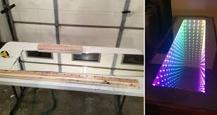 infinity mirror table. leave your guests mesmerized by creating an awesome diy \u0027infinity mirror table\u0027 infinity table