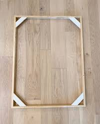 diy 10 canvas floating frame