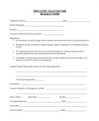 Holiday Request Form Awesome Template Staff Leave Record Employee Vacation Request Form On E