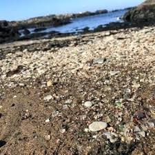 glass beach in california photo of glass beach fort ca united states glass pebbles remain glass