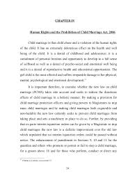 proposal to amend the prohibition of child marriage act and othe   24