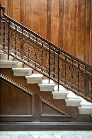 decorative black steel hand railings