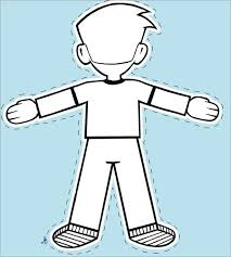 Flat Stanley Template Mesmerizing Image Result For FLAT STANLEY PRINTABLE Flat Stanley Pinterest