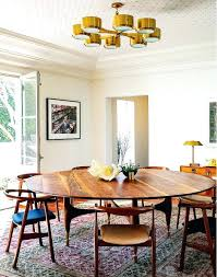 light wood round dining table stylish round dining room light fixture with best mid century chandelier