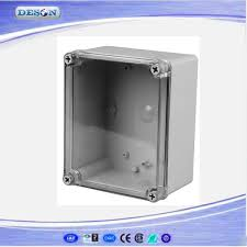 Decorative Electrical Panel Box Covers Free Shipping Best Small Size Clear Cover ABS Material IP100 41