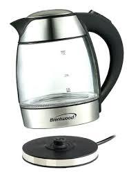best glass kettle electric kettles glass liter electric glass kettle with tea infuser best electric glass