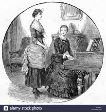 Image result for woman playing the piano during the American Civil War image