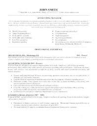 Sample Resume For Accounting Manager Accounting Manager Resume Sample Accounting Resume Sample Accounting