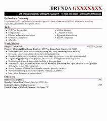 Hospital Unit Clerk Resume Unit Clerk Resume Example Umc Las Vegas Nevada