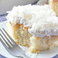 Coconut Cream Poke Cake Video The Country Cook