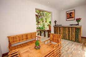 furniture made from bamboo. bamboo forest boutique villa our reception furniture made from tree
