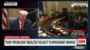 White House, President Trump, lie while discussing today's testimony - CNN  Video