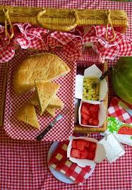 picnic basket pressed sandwiches cut 2