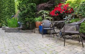 Backyard Paver Designs Adorable Patio Paver Calculator For Square And Round Designs