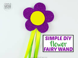 learn how to make an awesome diy flower fairy wand for your little