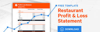 Profit And Loss Statement For Restaurant Template How To Read A Restaurant Profit And Loss Statement Free