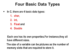int size c your first c program ppt video online download