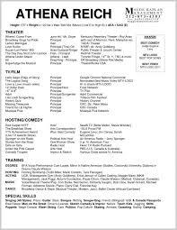 Actors Resume Template Download 234354 Resume Example 32 Actor